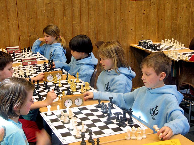 Schachteam Patefactio - beim Schach zählt der Kkopf